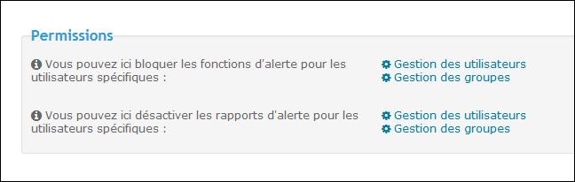 Les Rapports d'Alerte Tuto227