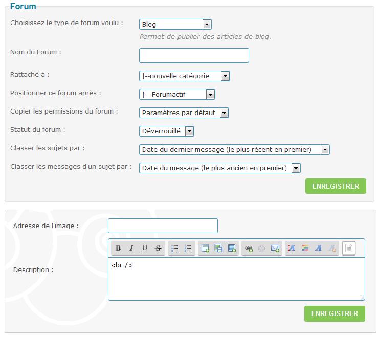 """Créer une section de type """"Blog"""" dans votre forum. Tuto510"""