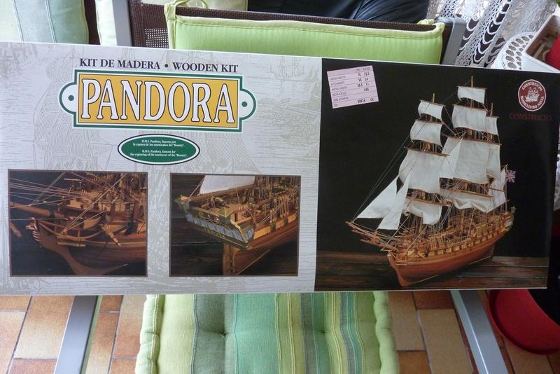 Kit bois PANDORA de chez CONSTRUCTO 112