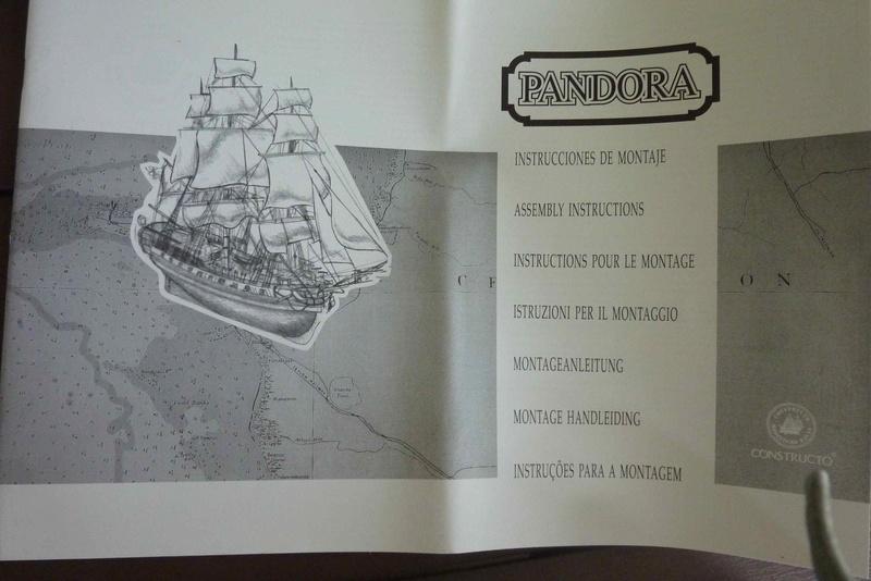 Kit bois PANDORA de chez CONSTRUCTO 410