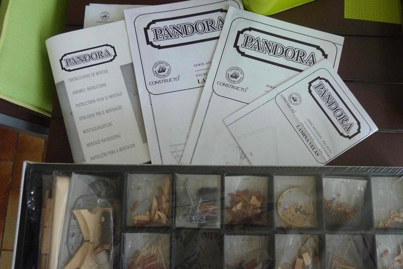 Kit bois PANDORA de chez CONSTRUCTO 710