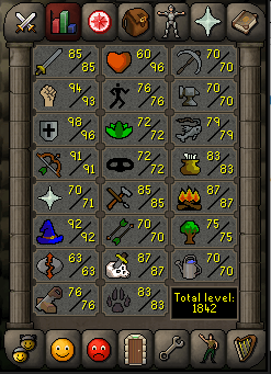 Iron Druid's Goals and Achievements Screen12