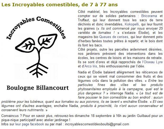 Incroyables Comestibles de Boulogne Billancourt  Clipb121