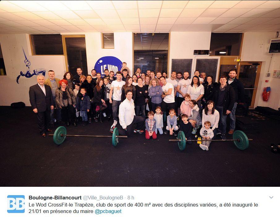 Salle de sport Le Wod - CrossFit Le Trapèze Clipb185