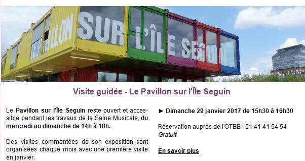 Promenades / Visites du trapèze et de l'île Seguin Clipb189