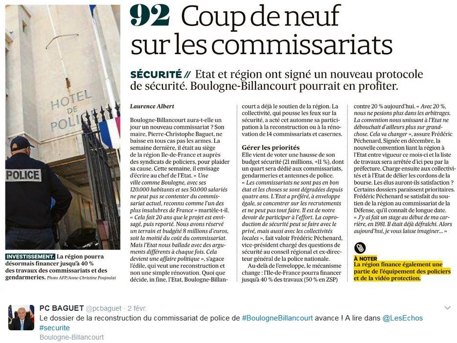 Commissariat de Boulogne-Billancourt Clipb240