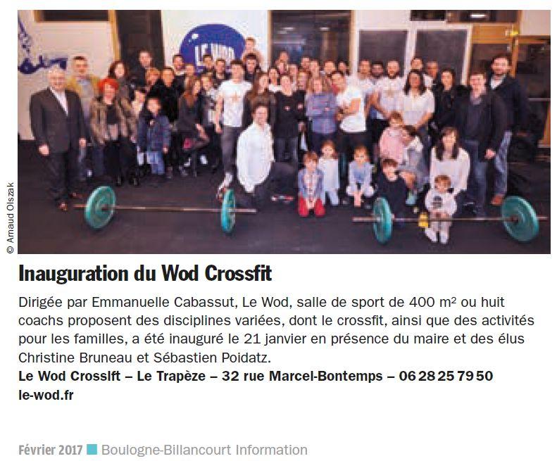 Salle de sport Le Wod - CrossFit Le Trapèze Clipb259