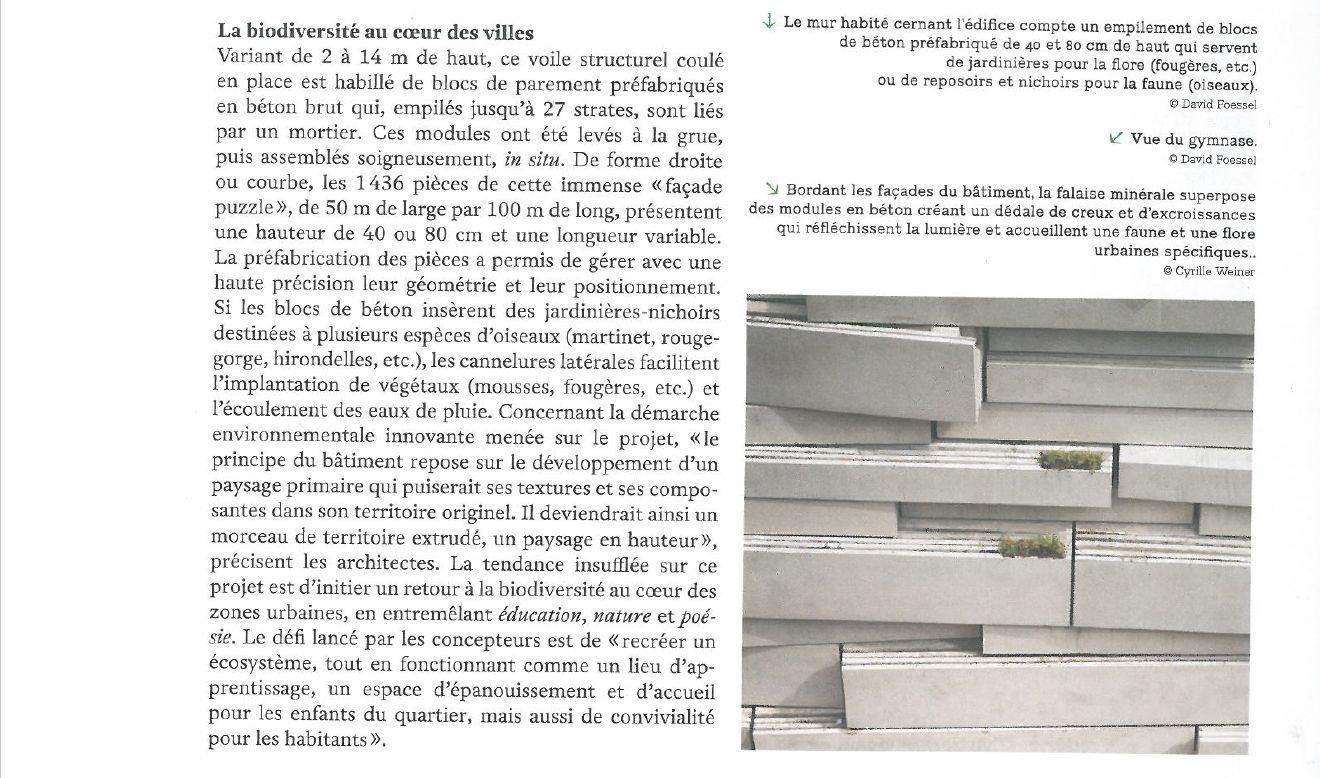 Groupe scolaire des Sciences et de la Biodiversité : informations et photos Clipb290