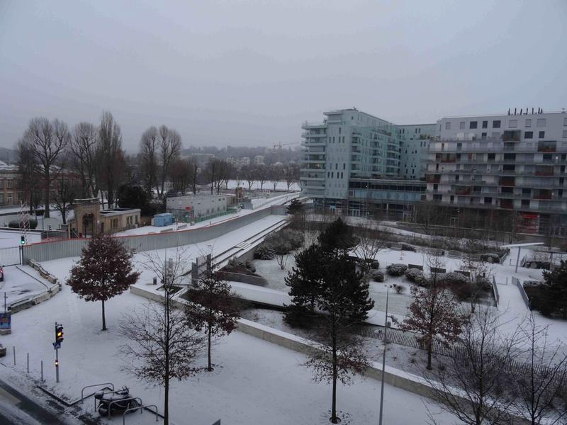 Le quartier sous la neige Dsc07220