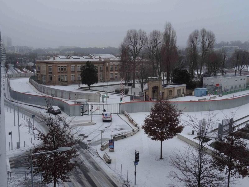 Le quartier sous la neige Dsc07224