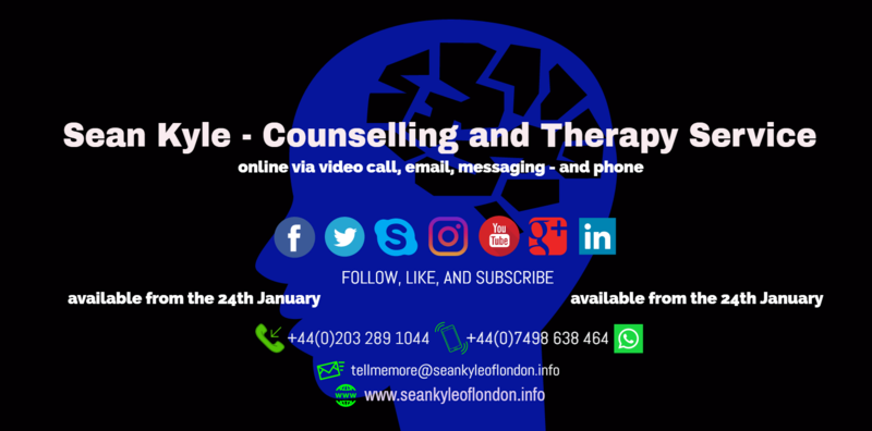 Sean Kyle - Counsellor & Psychotherapist