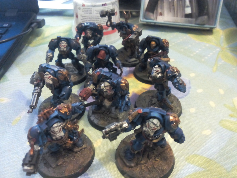Les Warhawks, Space Marines qui aiment tout cramer - Page 2 Img_2030