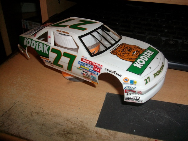NASCAR PONTIAC  KODIAK #27 Rusty Wallace. 88/89 Imgp1418