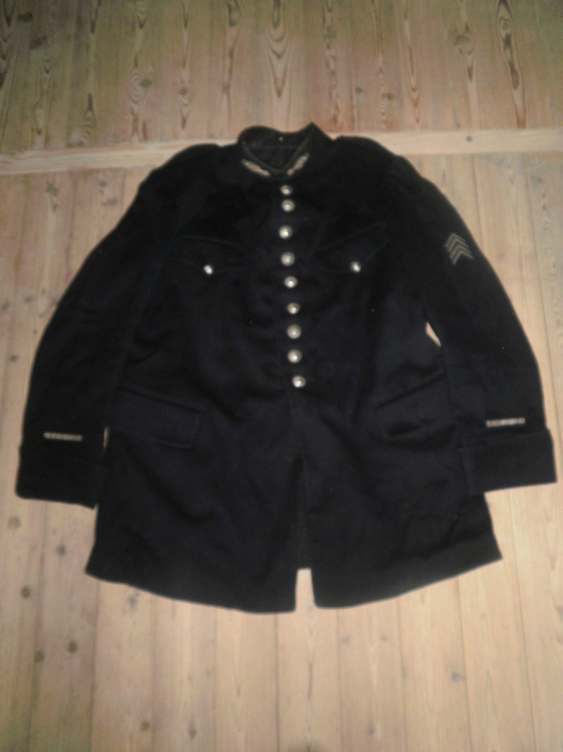 Vestes Gendarmerie différentes époques P6300012