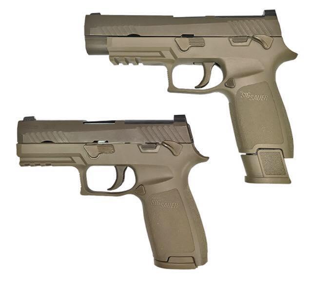 SIG P320 remplacera le Beretta M9 de l'US Army 16003310