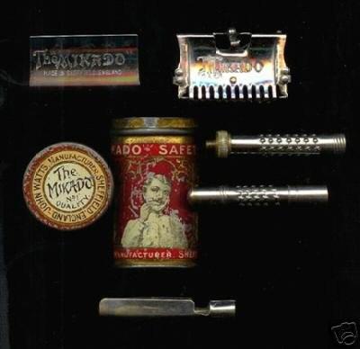 The Mikado - rasoir anglais par John Watts. Quelqu'un en a déjà vu un ? Rare-m11