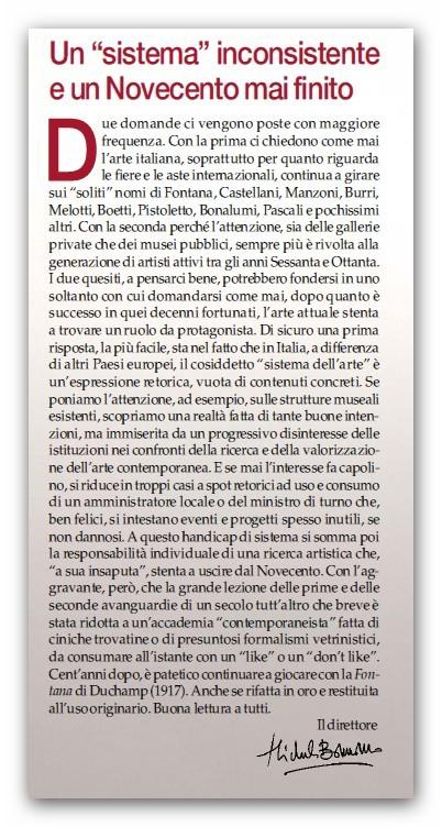 GLI EDITORIALI DELLE VARIE RIVISTE D'ARTE - Pagina 3 Editor10