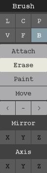 Voxeling (2.1): Navigating the UI Brush_10