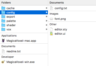 Voxeling (1): The Filesystem Config10