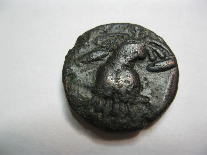 Statère anonyme de bronze, région Cachemire, post Torama II (entre 570-855 ap. J.-C.) Img_1421