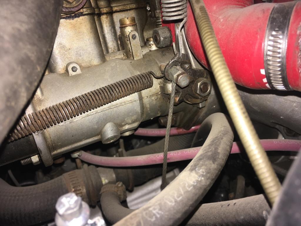 Commande accélérateur pipe 1 weber  1ffc7010