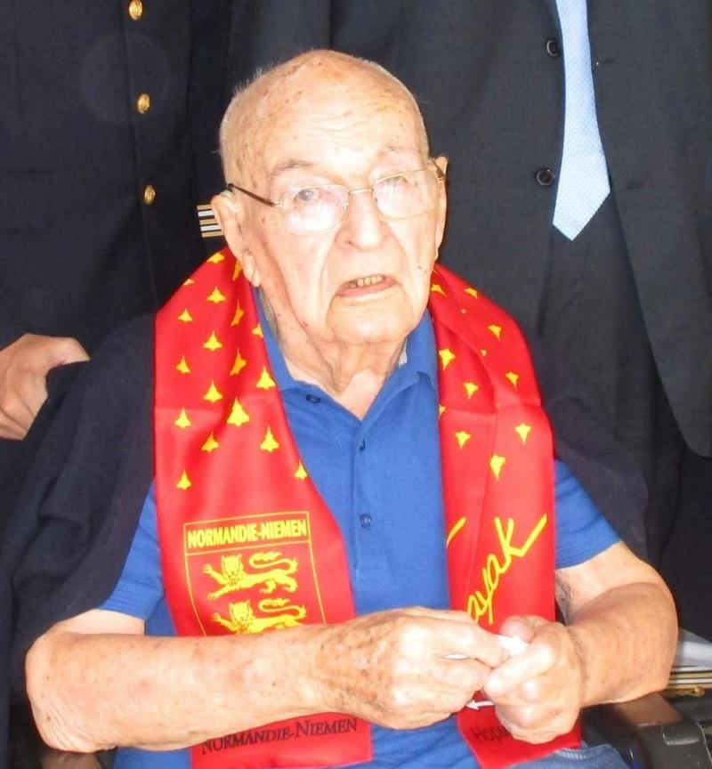 Décès du COL Taburet, dernier pilote Normandie-Niemen 16665710