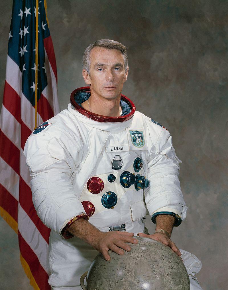 Décès d'Eugene Cernan, dernier homme sur la Lune 800px-10