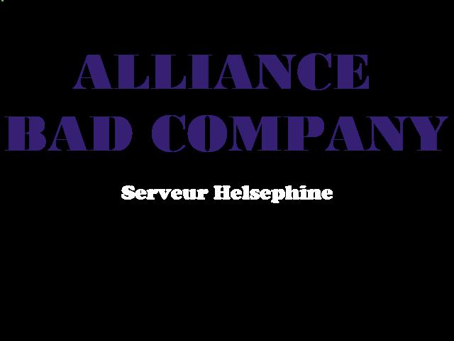 Alliance Bad Company