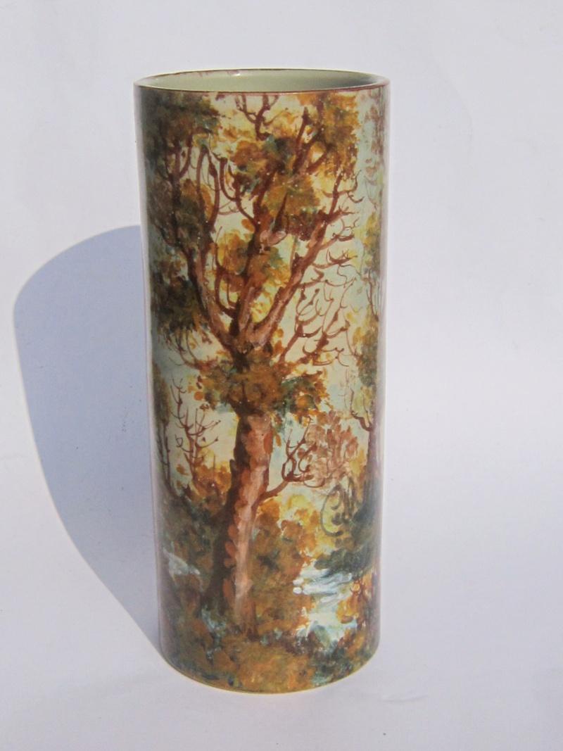 Painted woodland cylinder vase - Carlo Morelli  Img_1812
