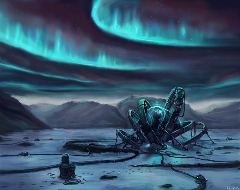 Illustrations de Jari (aka Odilion)  Aurora11
