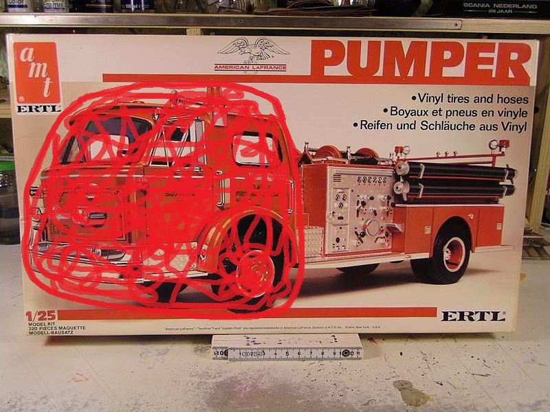 DODGE  L-700 PUMPER  FIRE DEPARTMENT 00211