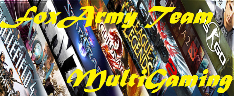 Foxarmy's team Multigaming