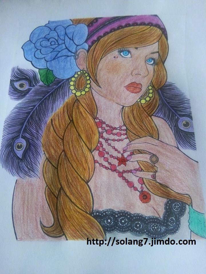 coloriage pour adulte ; mes creations 14591511