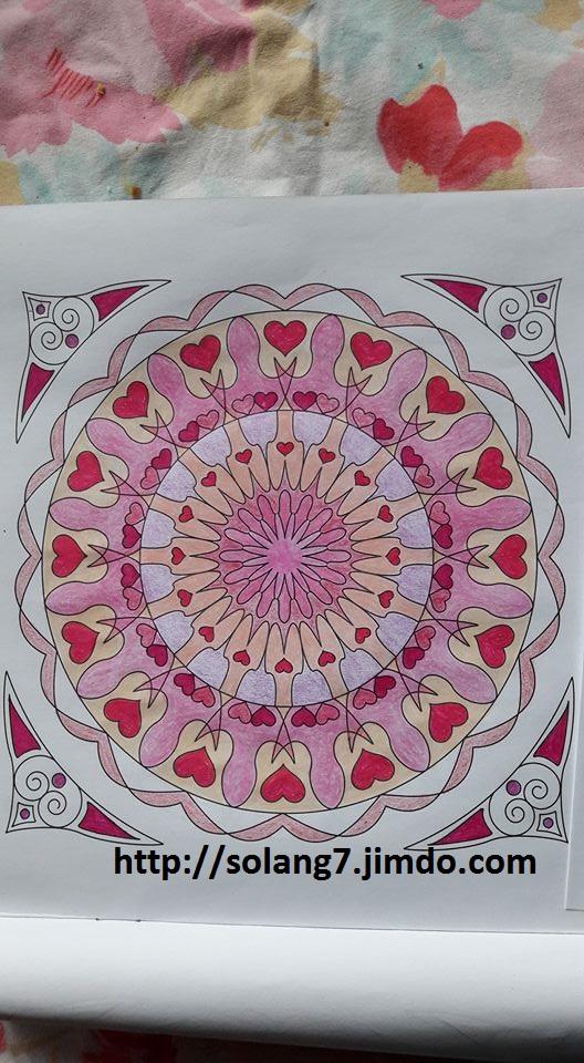 coloriage pour adulte ; mes creations 14720411