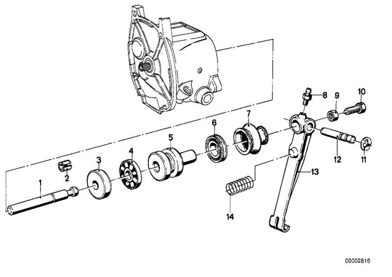 Embrayage et volant moteur Diag_210