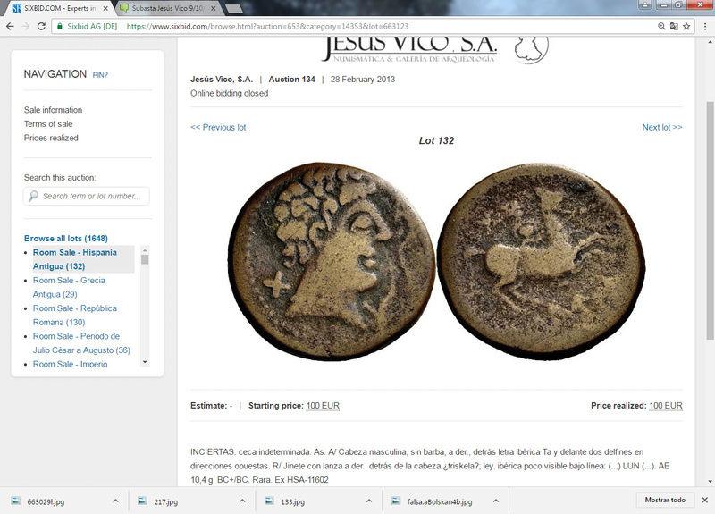 Subastas Jesús Vico 2012-2014 :falsificaciones antiguas y otras cosillas 10010