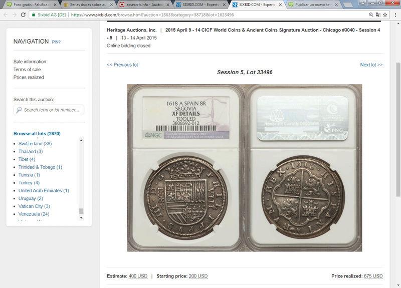 Martí Hervera 21/12/10,Heritage Auctions,14/4/15, Cayón 28/4/15 :8 reales 1618 Sin_ty12