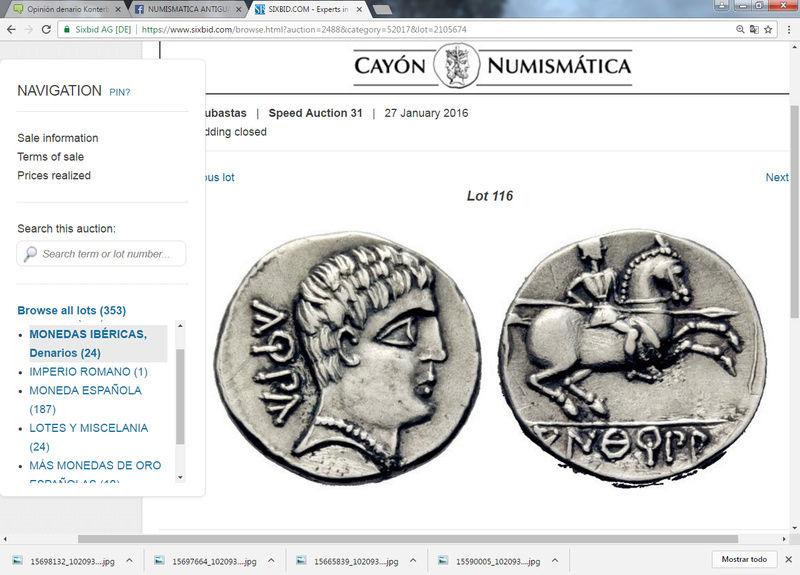 Subasta Cayón 27/1/16 :denario Konterbia. Sin_ty80