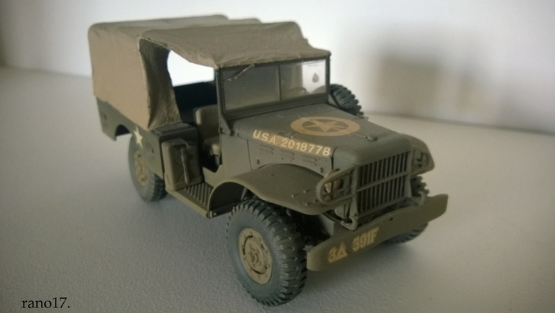 Ma ptite collection US WWII  1/35 Dodge_20