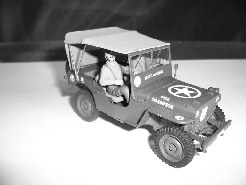 Capitine Dronne ( jeep italeri et Japmodel 1/35 ) Mort_a11