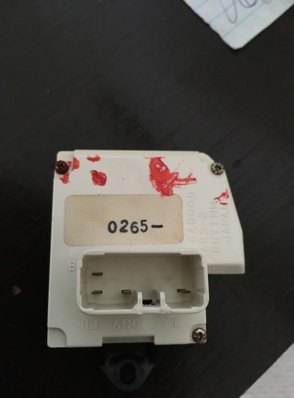 Dash Clock for Australian AE101 Img_9010