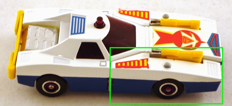 Cerco fiancata destra Mach Patrol Deluxe - Mach-Attacker  CLOVER Daitar11