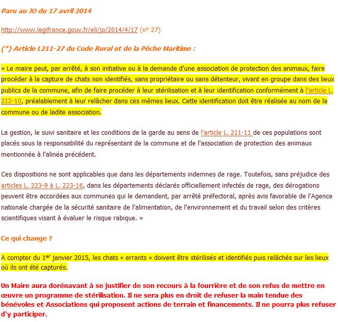 LOIS  / CONDAMNATIONS  /.....PARTI  ANIMALISTE      Chats_10
