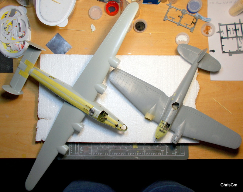 "[Hasegawa] Heinkel He 111 H6 ""TORPEDO BOMBER""  - Page 3 Dscn0734"