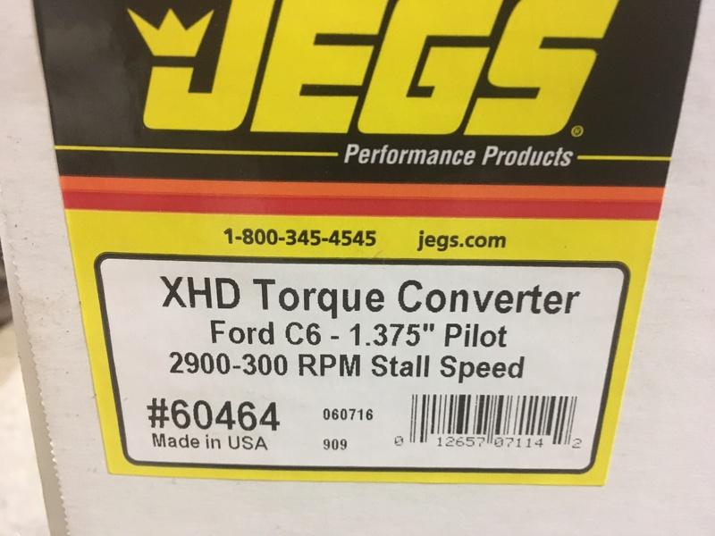c6 torque converter 10 in  Conver11
