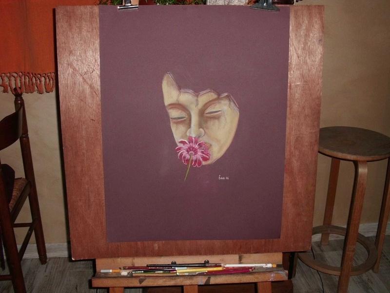 Le masque d'argile Cimg2615