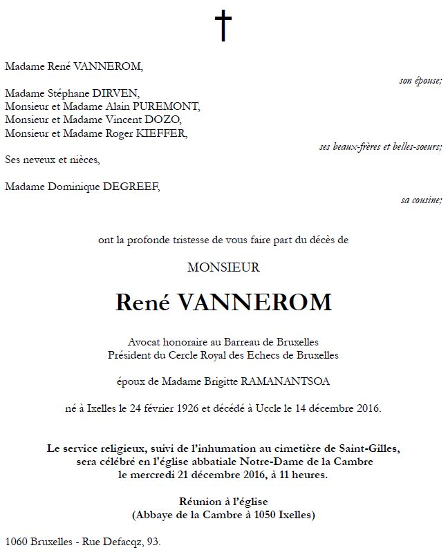 René Vannerom (1926-2016) Rene10