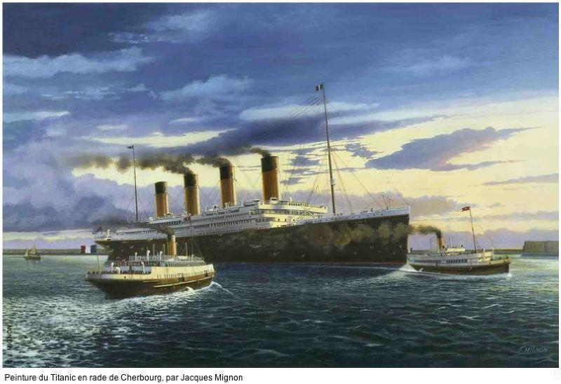 Le patrimoine navigant, bâti de notre littoral et les réserves naturelles marines - Page 2 Titani10