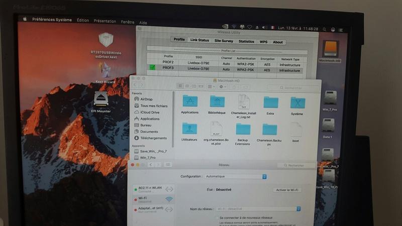 WIFI Network macOS Sierra Clover 20170220
