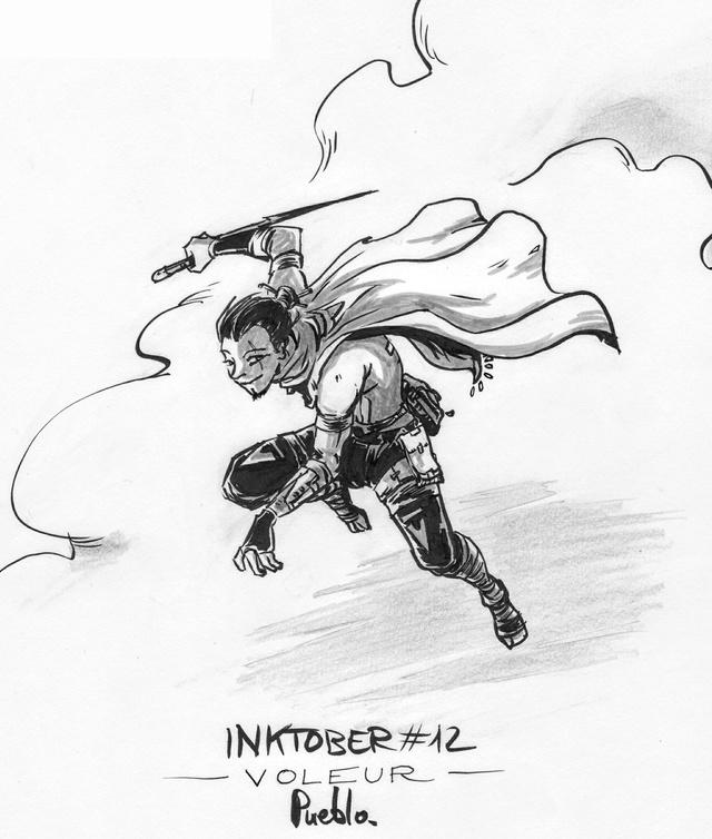 [Terminé] Inktober 2016 - Page 7 Inktob10